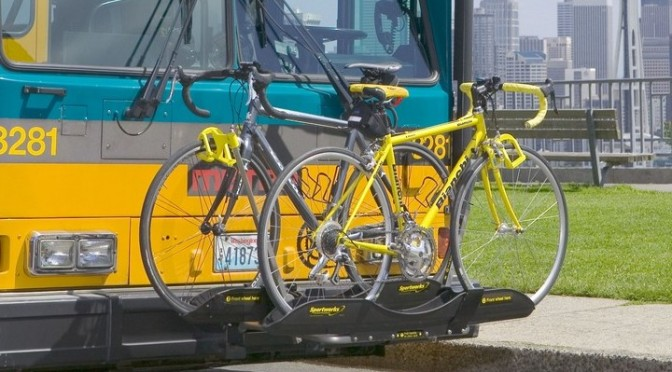 Front Bus Cycle Racks