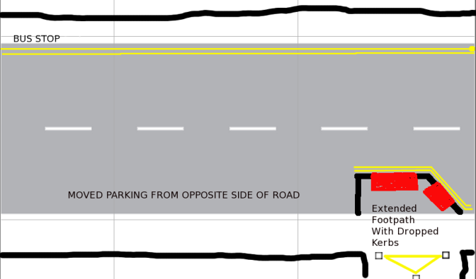 Claude Avenue Ramp – BaNES makes the space dangerous