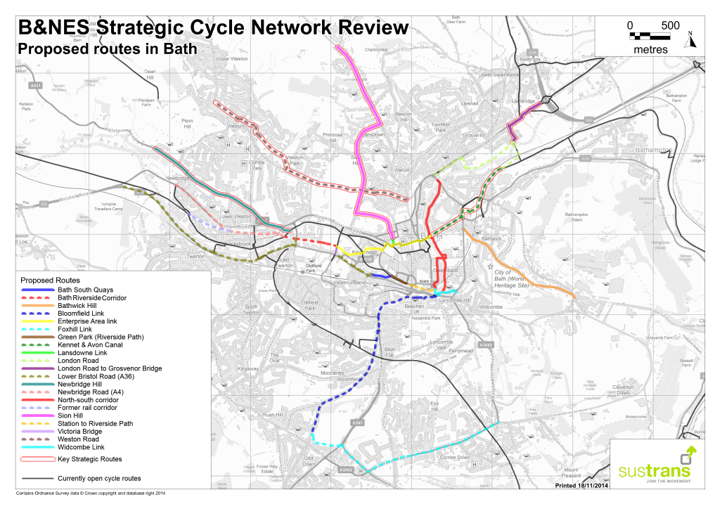 Appendix C Bath Network Overview