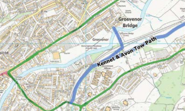CCAG 2015/16: Kennet and Avon Canal connection to Grosvenor Bridge