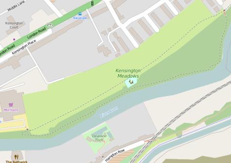 Kensington Meadows from Grosvenor Bridge to Morrisions