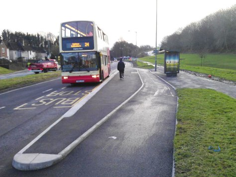 Brighton Bus with Cycle Bypass aka