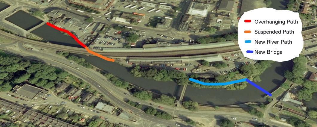 Halfpenny Bridge Scheme