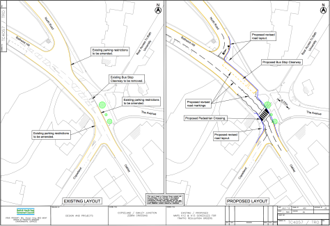 INFORMAL CONSULTATION - Proposed Zebra Crossing, Copseland & Oakley junction, Bathwick
