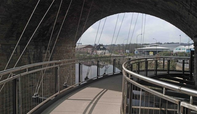 Cycle City Ambition Grant Halfpenny Bridge Scheme