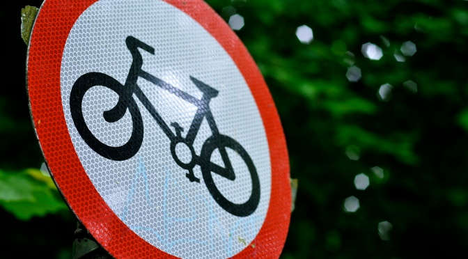 The message is clear in the UK – if you're a cyclist, your life does not matter.