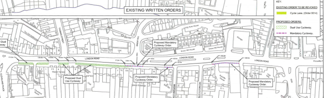New threat to London Road Cycle Path