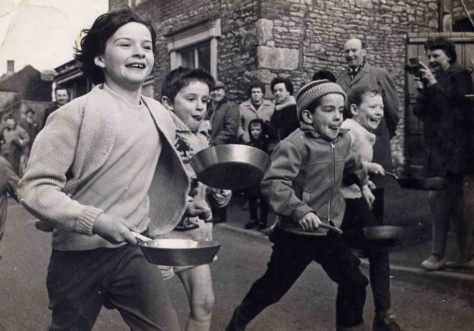 Pancake race c1970