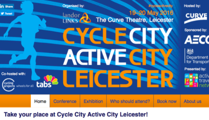 Thoughts on Cycle City Active City Conference