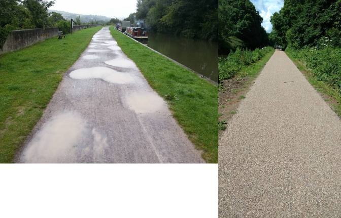 K&A Towpath – the work continues