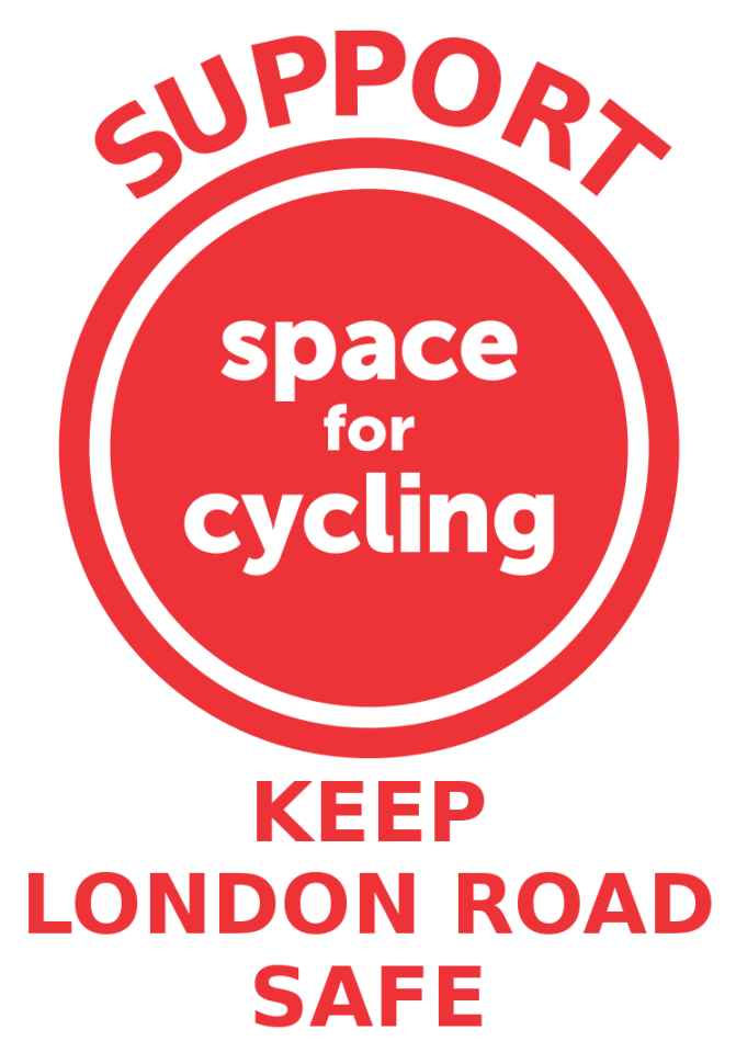 Space For Cycling – Keep London Road Safe – Protest 5pm Thursday Guildhall