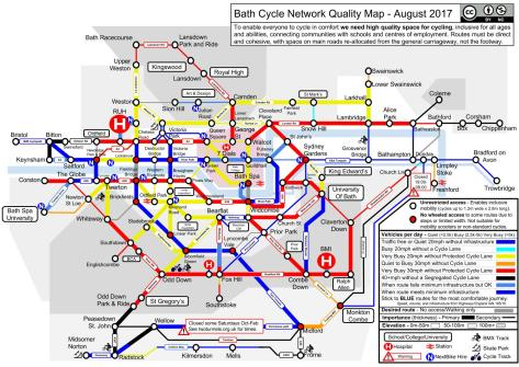 Bath Cycle Network Quality Map (1)