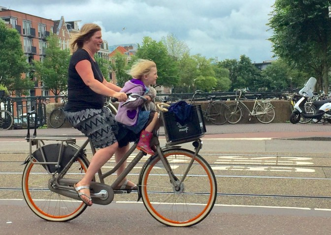 Lessons from Amsterdam: How to make cycling easy and fun
