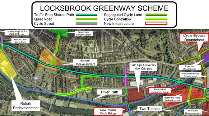 The Locksbrook Greenway – The final piece in the puzzle.