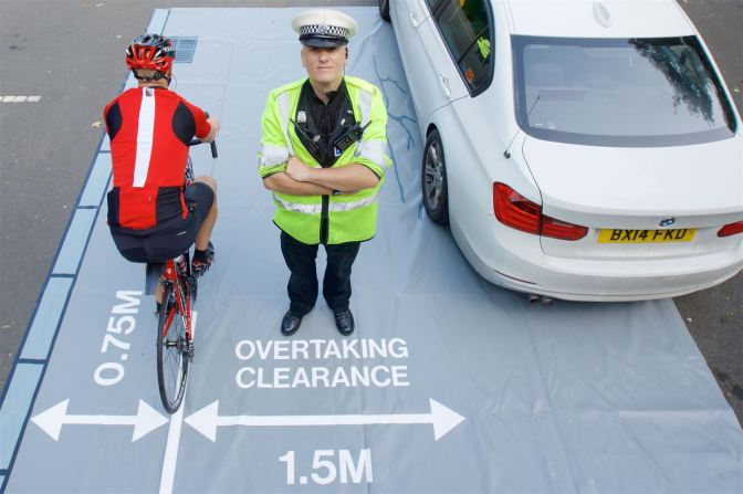 Why we need all professional drivers to pass Bikeability Level 3 training