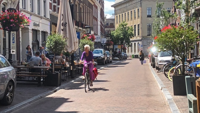 Another reconstructed city centre street in Utrecht